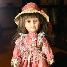 Muñecas Porcelana: PRECIOSA MUÑECA DE PORCELANA. MUY BUEN ESTADO!!. Lote 147398702