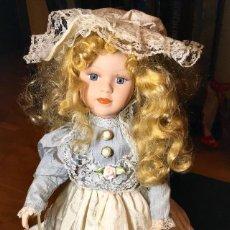 Muñecas Porcelana: PRECIOSA MUECA DE PORCELANA. MUY BUEN ESTADO!!. Lote 147399106