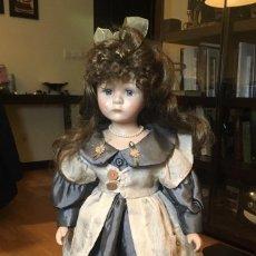 Muñecas Porcelana: PRECIOSA MUÑECA DE PORCELANA. MUY BUEN ESTADO!!. Lote 147404446