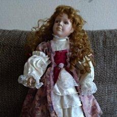 Muñecas Porcelana: MUÑECA DE PORCELANA GRANDE. Lote 147449718