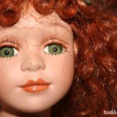 Muñecas Porcelana: MUÑECA PORCELANA HADA PELIRROJA . Lote 147565434