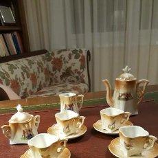 Muñecas Porcelana: JUEGO DE CAFÉ DE JUGUETE MODERNISTA. Lote 147765490