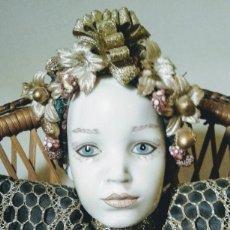 Muñecas Porcelana: PRECIOSA MUÑECA DE PORCELANA ANTIQUE UNIQUE. Lote 148656474