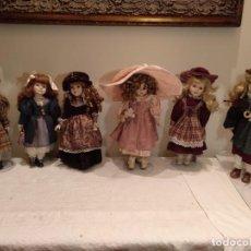 Muñecas Porcelana: COLECCIÓN MUÑECAS PORCELANA. Lote 149703690