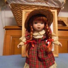 Muñecas Porcelana: MUÑECA ESCOCESA - SE VENDE LO QUE VES EN LAS FOTOS . Lote 150167422