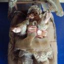 Muñecas Porcelana: (JU-190209)MUÑECA DE CUNA CABEZA DE PORCELANA,SONORA Y MOVIBLE. Lote 150220954