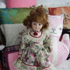 Muñecas Porcelana: MUÑECA DE PORCELANA. Lote 150239614