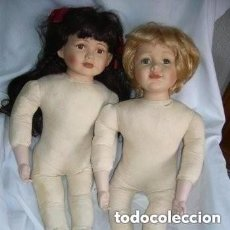 Muñecas Porcelana: PAREJA DE MUÑECOS. Lote 150591162