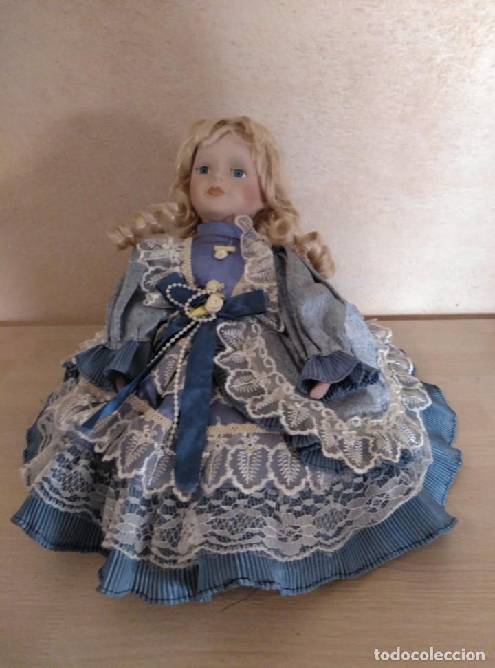 Muñecas Porcelana: Muñeca de porcelana - Foto 2 - 144551422