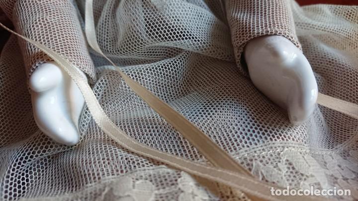 Muñecas Porcelana: ANTIGUA MUÑECA PORCELANA TELA AÑOS 50 - Foto 5 - 151381166