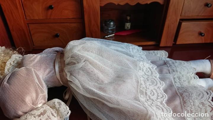 Muñecas Porcelana: ANTIGUA MUÑECA PORCELANA TELA AÑOS 50 - Foto 8 - 151381166