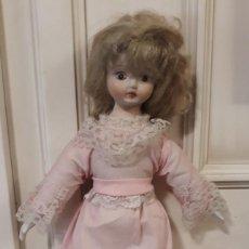 Porzellan-Puppen - muñeca de trapo con cabeza, manos y pies de porcelana o similar - 151758686