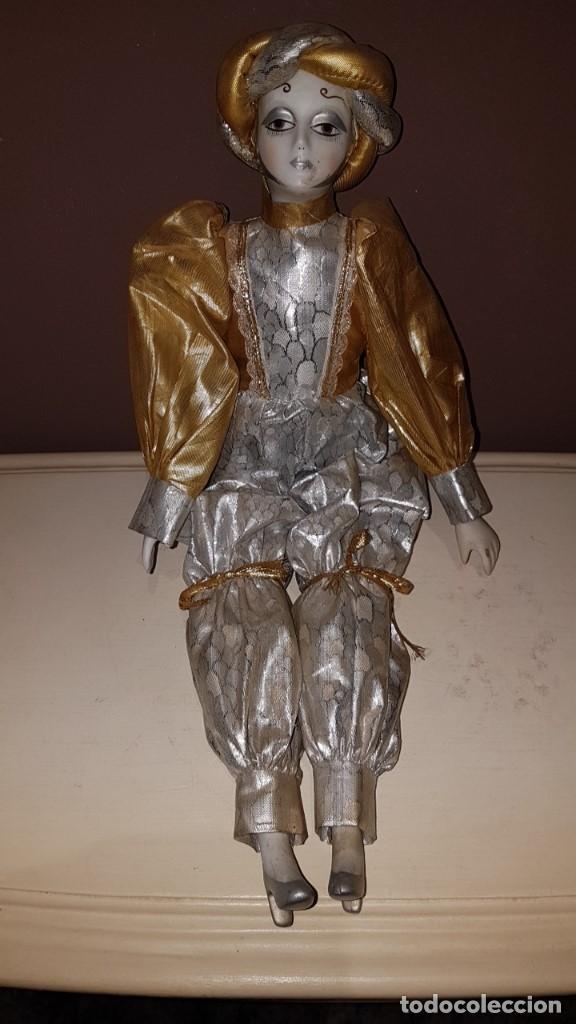 Muñecas Porcelana: LOTE DE 3 MUÑECAS DE PORCELANA Y TRAPO, TAL CUAL SE VEN. - Foto 3 - 151843702