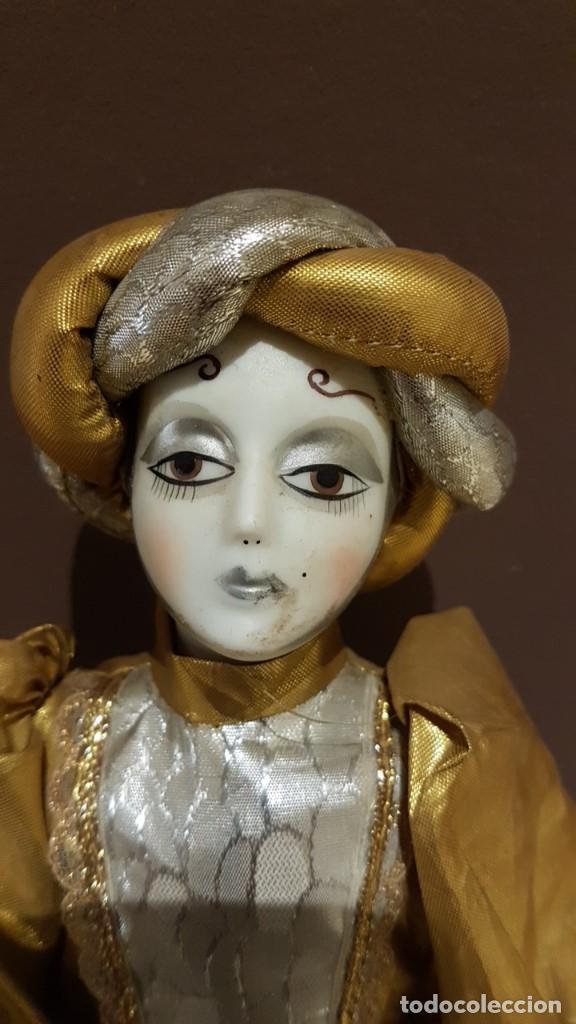 Muñecas Porcelana: LOTE DE 3 MUÑECAS DE PORCELANA Y TRAPO, TAL CUAL SE VEN. - Foto 4 - 151843702