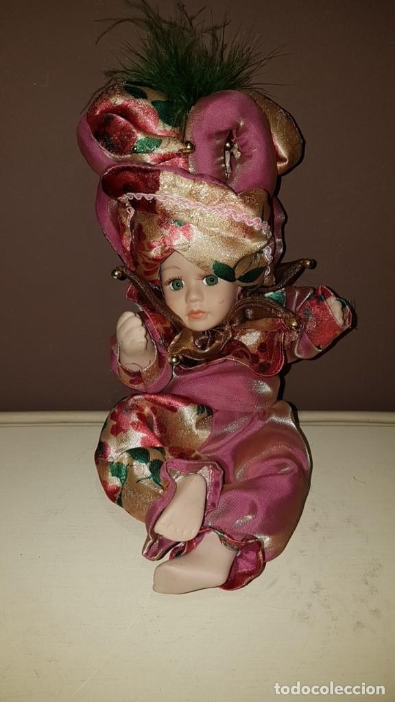 Muñecas Porcelana: LOTE DE 3 MUÑECAS DE PORCELANA Y TRAPO, TAL CUAL SE VEN. - Foto 5 - 151843702