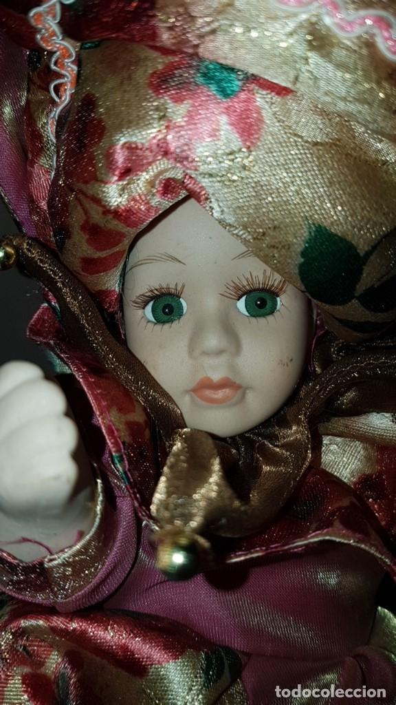 Muñecas Porcelana: LOTE DE 3 MUÑECAS DE PORCELANA Y TRAPO, TAL CUAL SE VEN. - Foto 6 - 151843702
