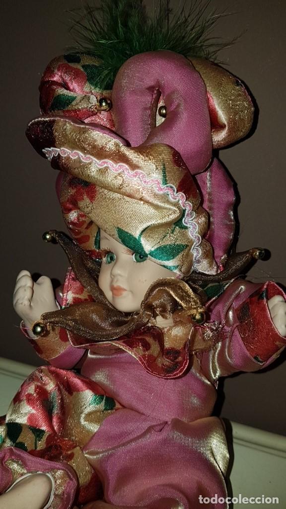 Muñecas Porcelana: LOTE DE 3 MUÑECAS DE PORCELANA Y TRAPO, TAL CUAL SE VEN. - Foto 7 - 151843702