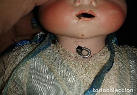 Muñecas Porcelana: Bebe de porcelana tipo Armand Marseille, no esta marcado. El cuerpo parece mas reciente. - Foto 3 - 151902298