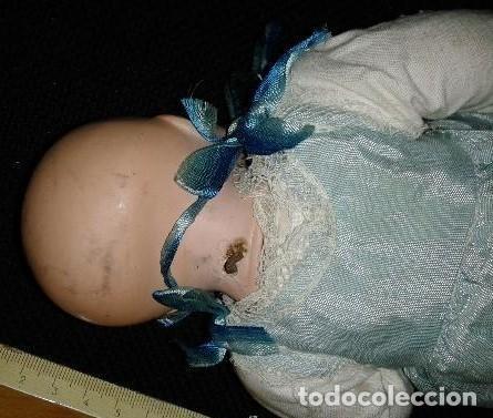 Muñecas Porcelana: Bebe de porcelana tipo Armand Marseille, no esta marcado. El cuerpo parece mas reciente. - Foto 4 - 151902298