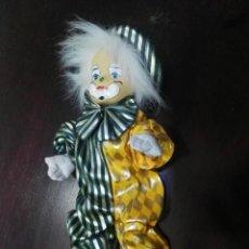 Muñecas Porcelana: MUÑECA DE PORCELANA PAYASO . Lote 152567678