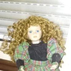 Muñecas Porcelana: MUÑECA PORCELANA PARA PIEZAS O RESTAURAR. Lote 153214574