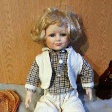 Muñecas Porcelana: MUÑECA ALEMANA. AÑOS 70. CARITA DE PORCELANA.. Lote 154770022