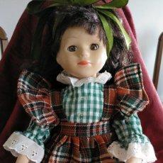 Muñecas Porcelana: MUÑECA DE PORCELANA AÑOS 80 CUERPO DE TELA 32 CM. Lote 154777426
