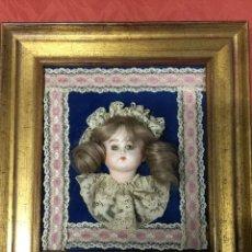 Muñecas Porcelana: CUADRO MUÑECA BISCUIT. Lote 155148234