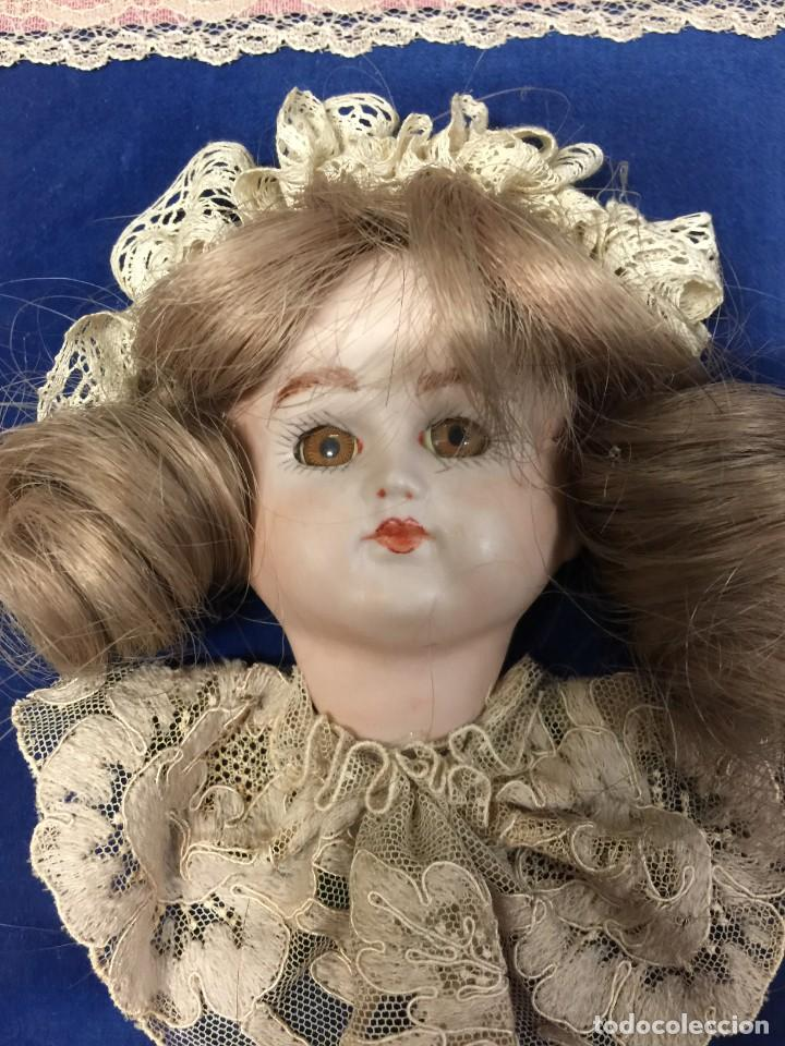 Muñecas Porcelana: CUADRO MUÑECA BISCUIT - Foto 2 - 155148234