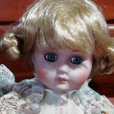 Muñecas Porcelana: MUÑECA EN PORCELANA. AÑOS 70. Lote 155181634