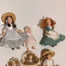 Muñecas Porcelana: LOTE 6 MUÑECAS DE PORCELANA. Lote 155321613