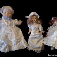 Muñecas Porcelana: MUÑECAS DE PORCELANA. Lote 155590694