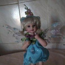 Porzellan-Puppen - muñeca de porcelana hada,rara de ver,completamente de porcelana articulada,marca incisa en la espald - 155690110