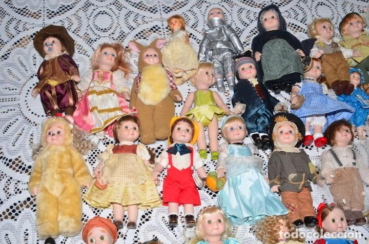 Muñecas Porcelana: MEGA COLECCIÓN GRAN LOTE DE 63 MUÑECAS , LA MAYORÍA DE PORCELANA CON OJOS DE CRISTAL, DISNEY, ETC - Foto 3 - 155892658
