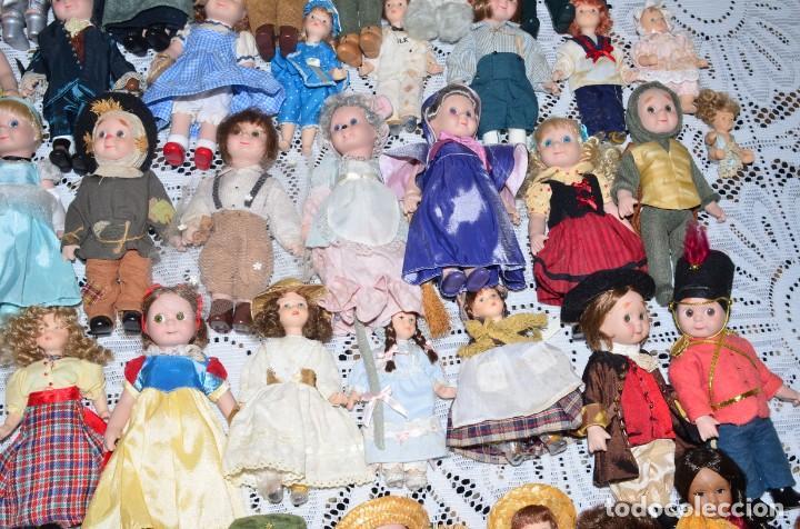 Muñecas Porcelana: MEGA COLECCIÓN GRAN LOTE DE 63 MUÑECAS , LA MAYORÍA DE PORCELANA CON OJOS DE CRISTAL, DISNEY, ETC - Foto 6 - 155892658