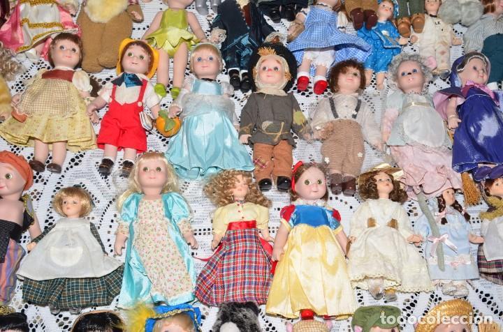 Muñecas Porcelana: MEGA COLECCIÓN GRAN LOTE DE 63 MUÑECAS , LA MAYORÍA DE PORCELANA CON OJOS DE CRISTAL, DISNEY, ETC - Foto 7 - 155892658