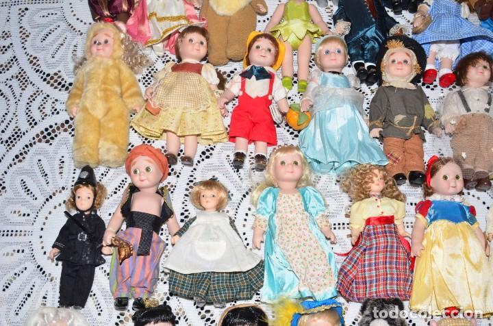 Muñecas Porcelana: MEGA COLECCIÓN GRAN LOTE DE 63 MUÑECAS , LA MAYORÍA DE PORCELANA CON OJOS DE CRISTAL, DISNEY, ETC - Foto 8 - 155892658