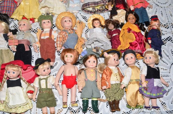 Muñecas Porcelana: MEGA COLECCIÓN GRAN LOTE DE 63 MUÑECAS , LA MAYORÍA DE PORCELANA CON OJOS DE CRISTAL, DISNEY, ETC - Foto 12 - 155892658