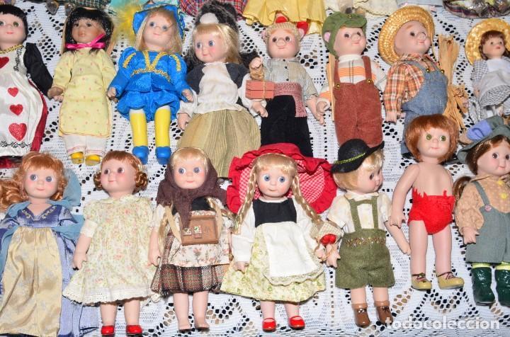 Muñecas Porcelana: MEGA COLECCIÓN GRAN LOTE DE 63 MUÑECAS , LA MAYORÍA DE PORCELANA CON OJOS DE CRISTAL, DISNEY, ETC - Foto 13 - 155892658