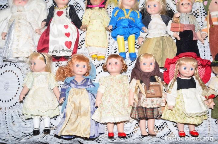 Muñecas Porcelana: MEGA COLECCIÓN GRAN LOTE DE 63 MUÑECAS , LA MAYORÍA DE PORCELANA CON OJOS DE CRISTAL, DISNEY, ETC - Foto 14 - 155892658