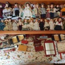 Muñecas Porcelana: 37 MUÑECAS PORCELANA DE COLECCIÓN. Lote 155973130