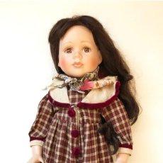 Muñecas Porcelana: ** LIQUIDACIÓN ** = MUÑECA PORCELANA - COLECCIÓN 45 CM. - AÑOS 80. Lote 156249974
