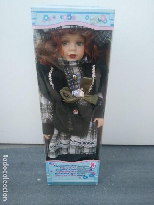 Muñecas Porcelana: MUÑECA de PORCELANA en su caja original REGAL ARTS - Foto 2 - 156948034