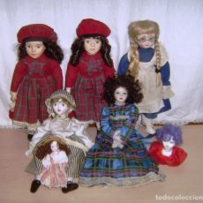 Muñecas Porcelana: LOTE DE MUÑECAS DE PORCELANA.. Lote 157881434
