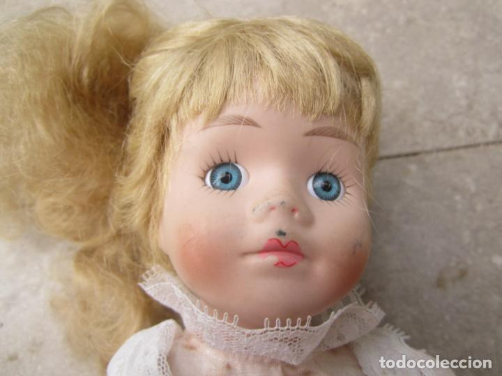 Muñecas Porcelana: muñeca cara y estremidades de porcelana de ojos fijos - Foto 2 - 158237806