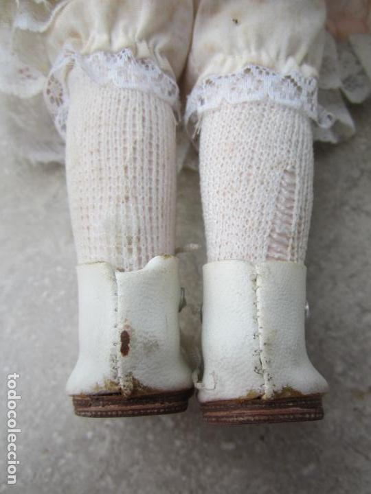 Muñecas Porcelana: muñeca cara y estremidades de porcelana de ojos fijos - Foto 6 - 158237806