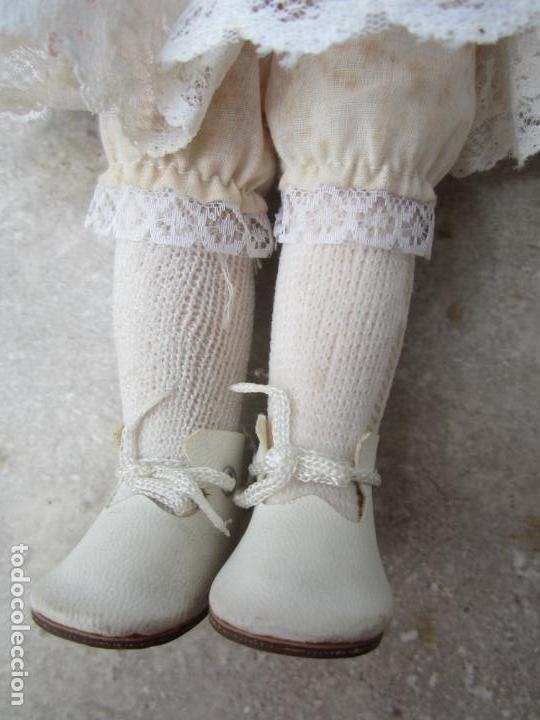 Muñecas Porcelana: muñeca cara y estremidades de porcelana de ojos fijos - Foto 7 - 158237806