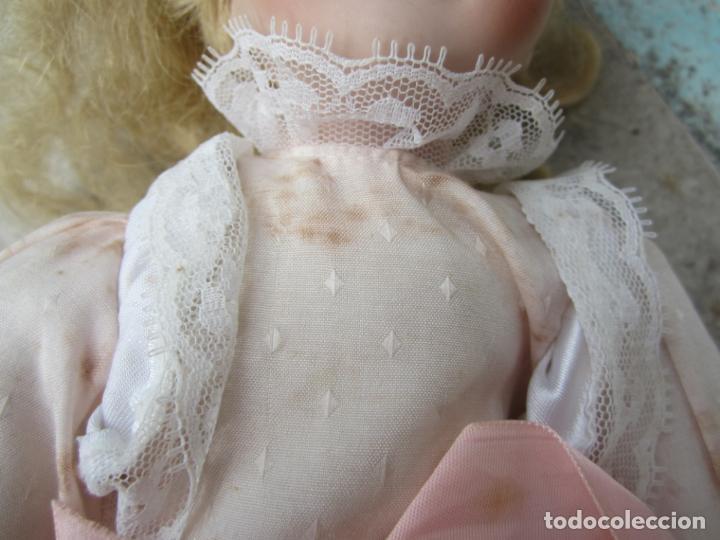 Muñecas Porcelana: muñeca cara y estremidades de porcelana de ojos fijos - Foto 11 - 158237806