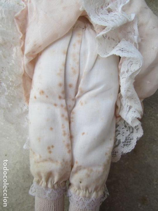 Muñecas Porcelana: muñeca cara y estremidades de porcelana de ojos fijos - Foto 12 - 158237806