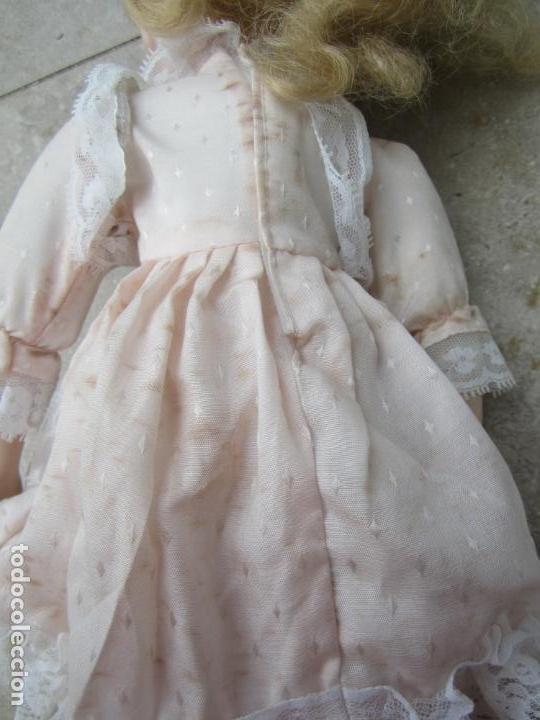 Muñecas Porcelana: muñeca cara y estremidades de porcelana de ojos fijos - Foto 13 - 158237806